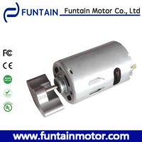 small vibrating motors for SLIMMING BELT , Funtain Motor RS-555