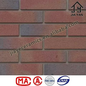 Vacuum extruded exterior clay wall tile clay brick