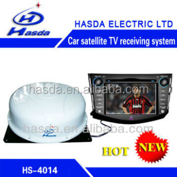 New Hot Selling Automatic dome satellite tv antenna HS-4014 new arrival