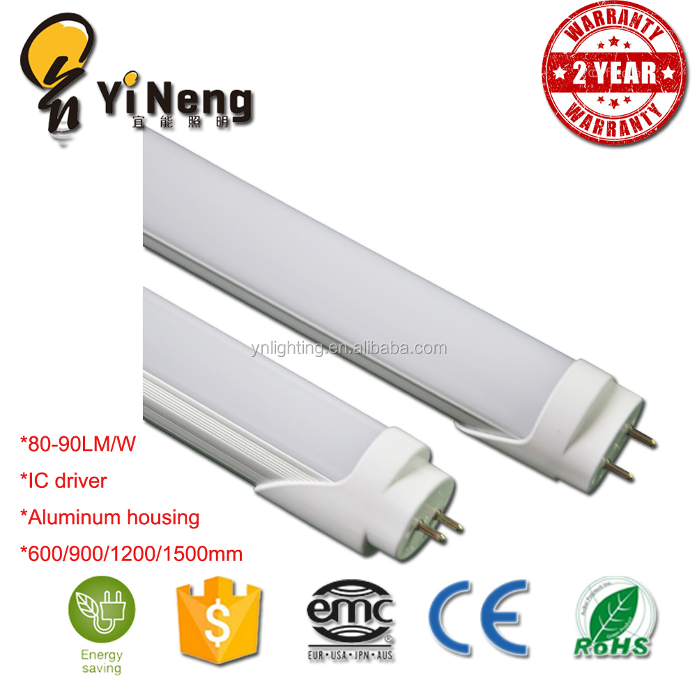 T8 4ft led tube lamp G13 base IC driver aluminum replace fluorescent 20w T5 1200mm led tube light