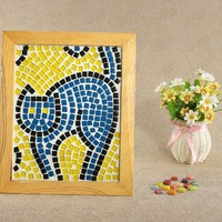Fashionable Kitty Frame Diy Glass Mosaic