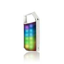 PSS 068 Portable colorful LED light bluetooth speaker with handsfree ,USB/TF card ,AUX and FM radio function