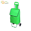 Eco friendly fashion shopping trolley bag sizes,hand trolley two wheel