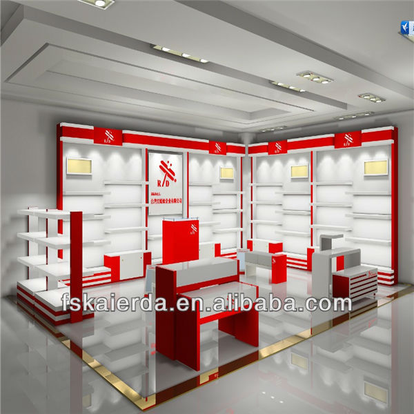 fashionable online shoe store display racks in china