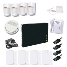 Security Alarm System & Wireless Mini security alarm system with iOS remote control for building security