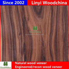 Woodchina 0.15-0.45mm factory grade AA faced natural recon acasia core veneer for plywood