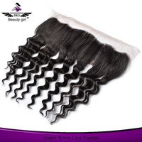 top quality cheap indian remy hair full front lace closures with baby hair