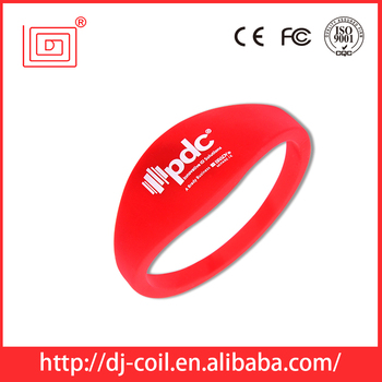 LF/HF/ UHF Colorful Rfid Wristband supplied by factory