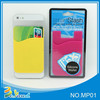 Manufacture wholesale silicone smart card wallet 3m sticky