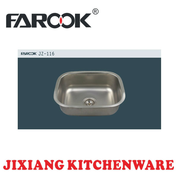 undermount kitchen universal stainless steel trough