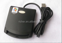 Smart Card Reader Writer,USB full speed interface to PC,Read and,write all microprocessor cards with T=0 or T=1 protocols,