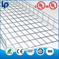Widely use TUV powder coated basket cable tray