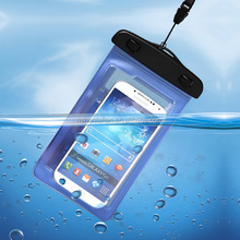 Outdoor travel waterproof mobile cell phone bag