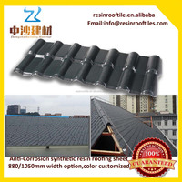 light weight ASA Coated aging resistance unbreakable roof sheets
