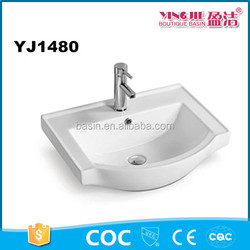 Home and garden used ceramic sanitary ware public bathroom sinks