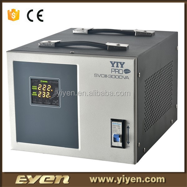 2000VA AVR power supply servo stabilizer power transformer price voltage and frequency stabilizer