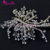 Shiny Crystal Rhinestone Wedding Accessories Bridal Headpieces tocados de boda para el pelo
