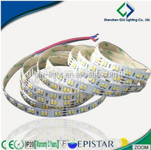 China Factory Price Bi-color CCT Adjustable Single Row 5630 Flex Led Strip With 120 Leds/m