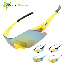 Hot! ROCKBROS Colorful Cycling Glasses Specialized Outdoor Sports Bike Bicycle Windproof Sunglasses 5 Colors