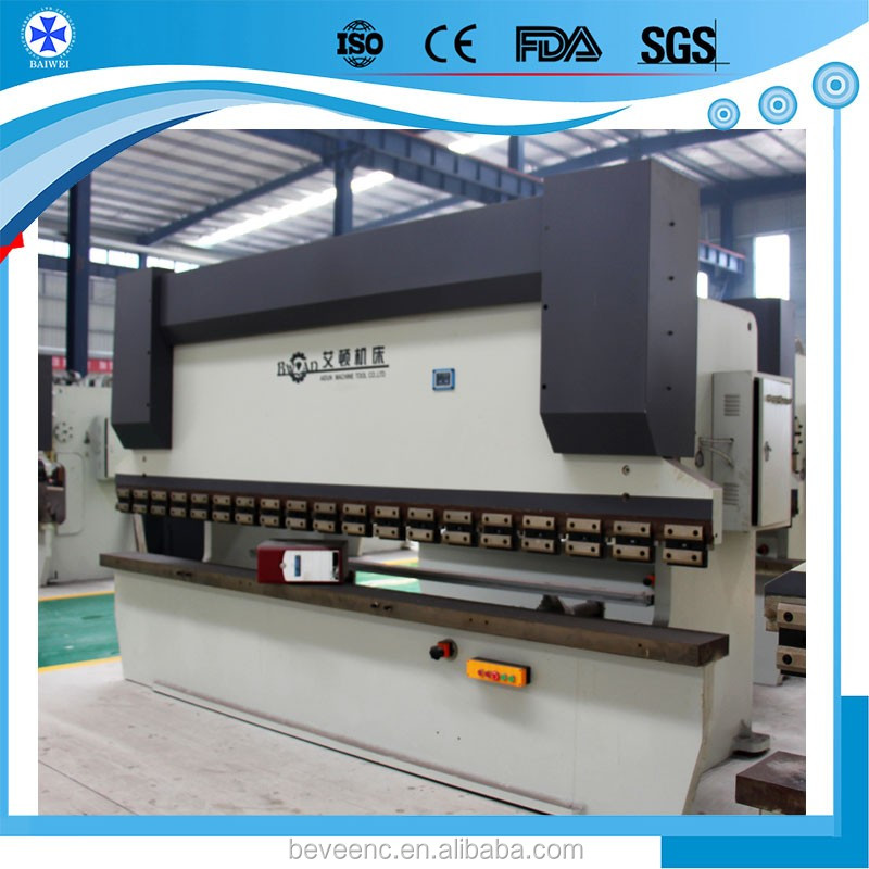 Wholesale products specification WC67Y Plate Bending Machine With DA66T Control System For Sale