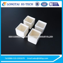 Alumina Ceramic Boat Crucible For Melting Metal with Differents Shapes and Size
