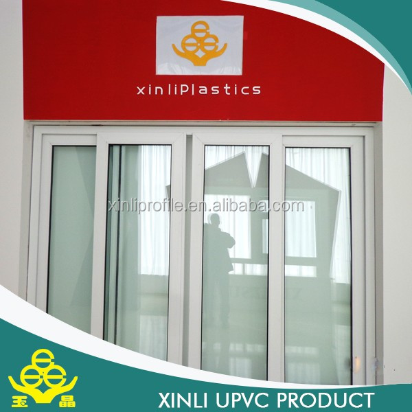 color extrusion sliding windows pvc profiles windows white door