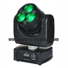 led wash moving head light zoom 3X15W rgbw 4in1