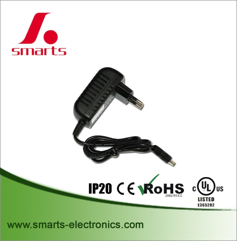 High quality 12v dc 1a power adapter