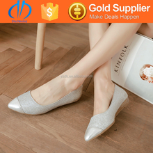 popular design fashion lady womens flat shoes from china