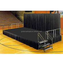 Brand new portable stage backdrops event stage