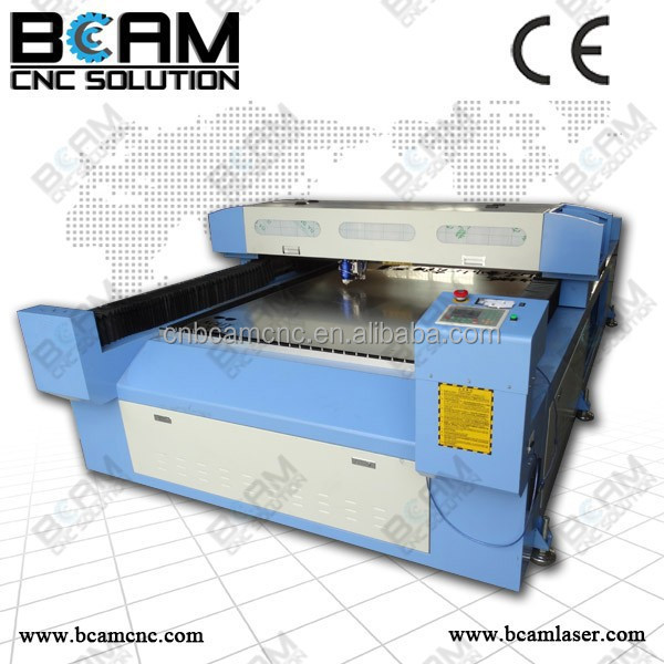 decoupage laser cutting machine for metal and non-metal with high quality