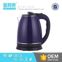 Clear water pot hot sale 1.7 litre electric kettle