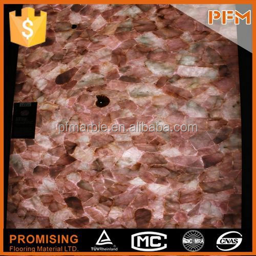 latest natural best price crystallized glass countertop