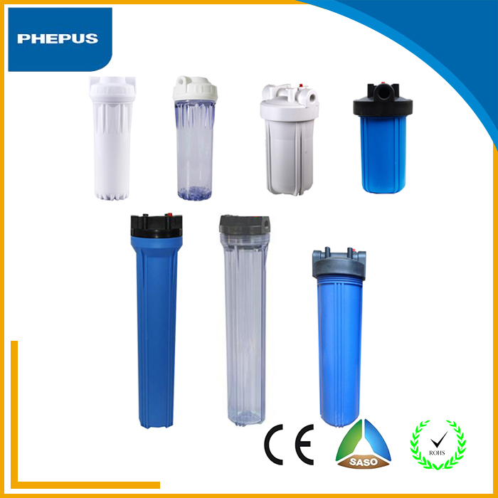High pressure industrial water filters housing/water purifier use food grade materials