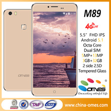 OMES 5.5inch M89 movil celular 4g lte oem android 5.1