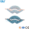 Guojie brand sale high quality cubic zirconia crystal necklaces jewelry sexy lip pendant