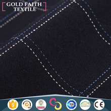 Fashion Wholesale Polyester Spandex Blend Textile Rayon Cloth Checked Fabric