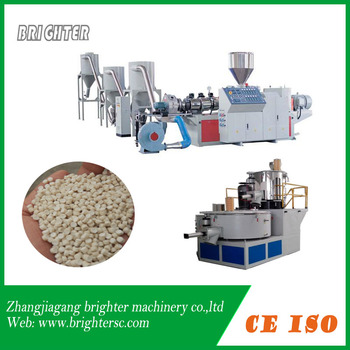 PVC powder granulation line
