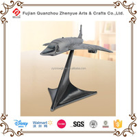 Beautiful Resin plane model scultpure