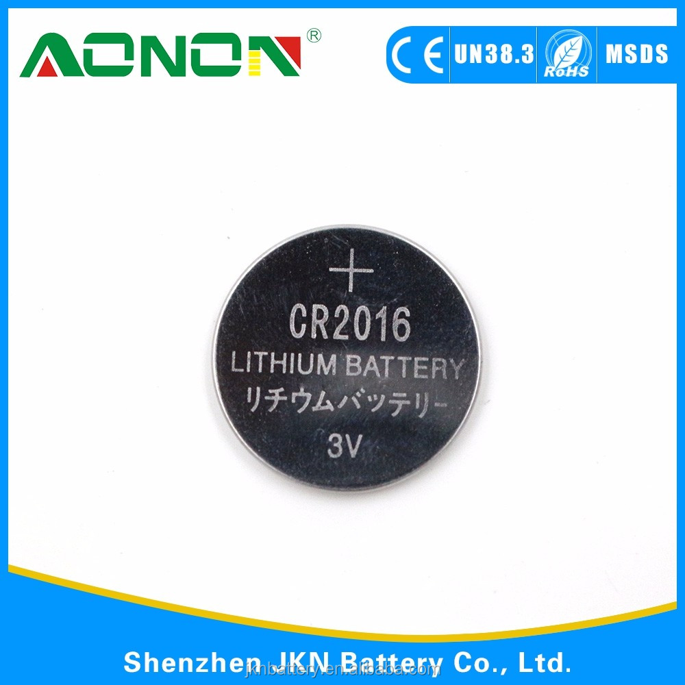 Non Rechargeable cr2016 battery
