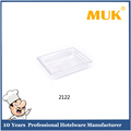 MUK Guangzhou hotel restaurant PC clear and smooth surface food pan