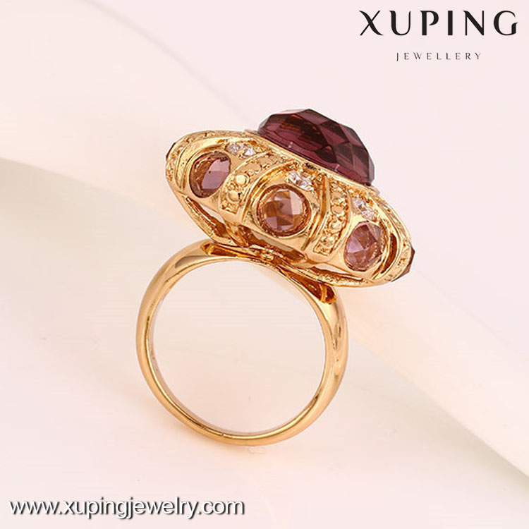 12224 Gold plating 18k gold color ring china jewelry wholesale fashion jewelry