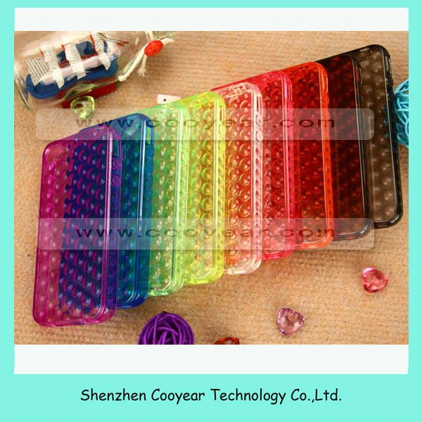 Newest bubble case for iphone 5 tpu case paypal is accepted