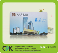 Good price custom printing library book reading card for university