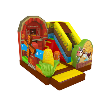 Original design inflatable bouncy castle farm inflatable bounce house