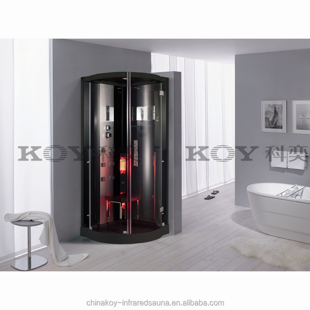 one person portable steam sauna room high quality steam shower with infrared sauna heat k076. Black Bedroom Furniture Sets. Home Design Ideas