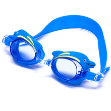 Children lovely silicone Cartoon swimming glasses with different animals circle