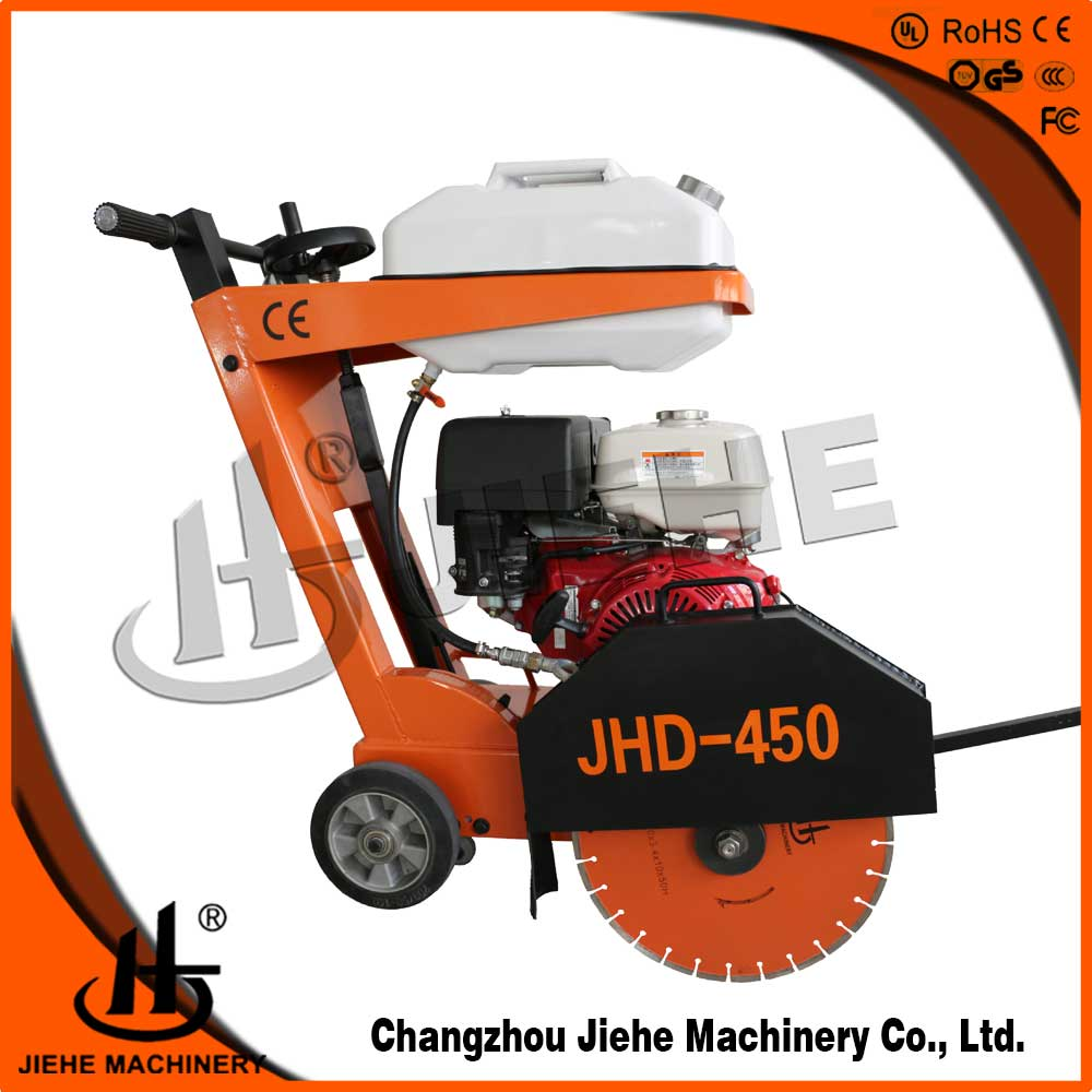 "450MM(18"") Walk-Behind Saw with a extra grooving saw,13 HP Honda Engine(JHD-400)"