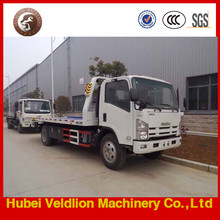 Japan cheap 2Ton/3Ton/4Ton/5Ton 0 degree flatbed road wrecker towing,recovery trucks for sale