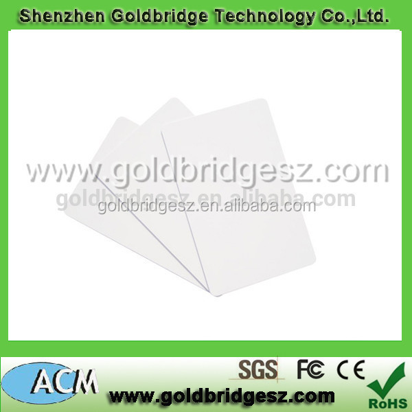 programmable rfid tag 13.56Mhz Paper ISO Card/Tag